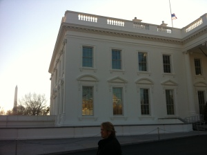 North Face of the White House with the Washington Monument to the left