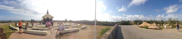 aruba alto vista chapel panorama