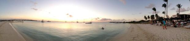 aruba beach club panorama