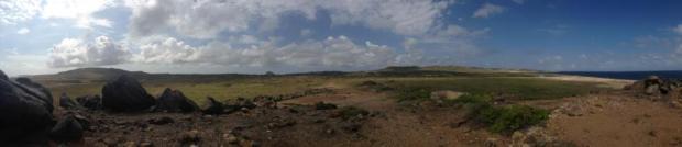 aruba black stone beach