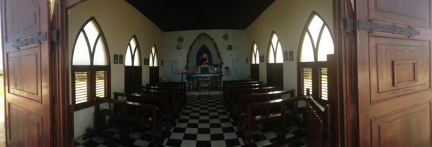 aruba inside alto vista chapel