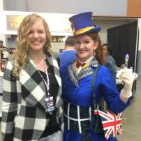 tardis dress at awesome con 2014