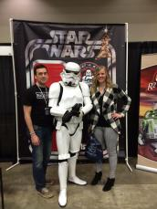 star wara storm trooper at awesome con 2014
