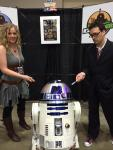 river song and the 10th doctor with r2d2