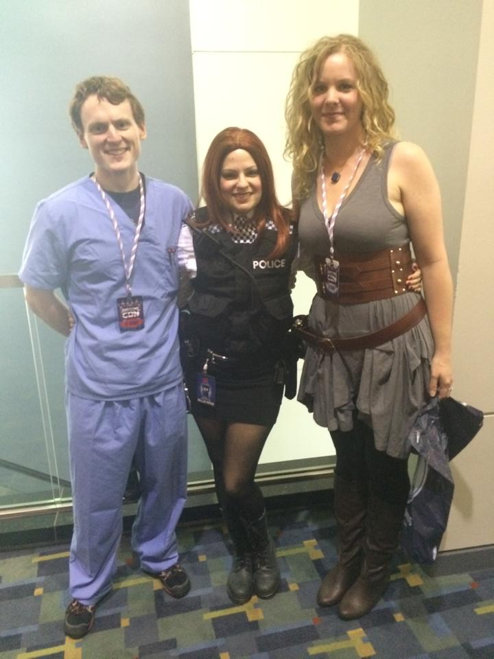 river song amy and rory cosplay