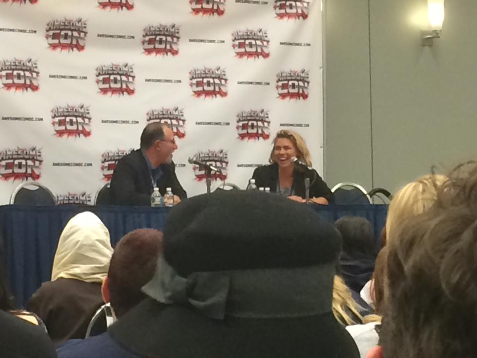 billie piper at awesome con 2014