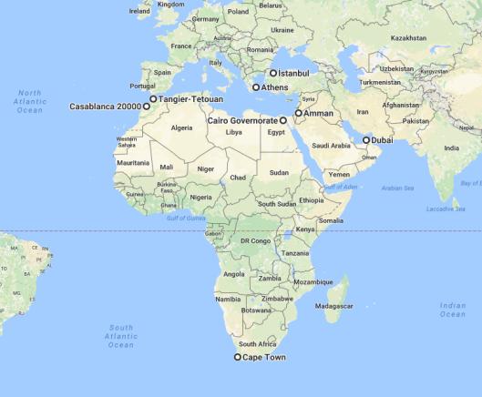 sabbatical travel map